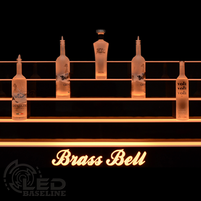 Lighted Bar Shelf