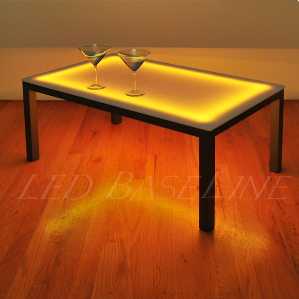 Modern lighted Table