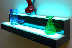 Lighted Product Display Stand