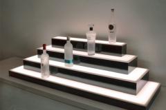 custom bar shelf design