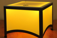LED Cube Cocktail Table