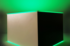 modern-table-black-and-white-green-light