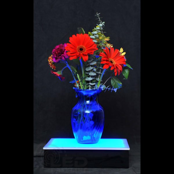"LED Display Stand 12"" x 12"" x 3"""