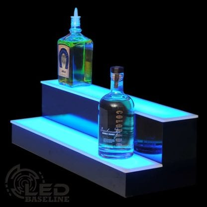 Lighted Liquor Bottle Shelf 2 Step 18 Standard
