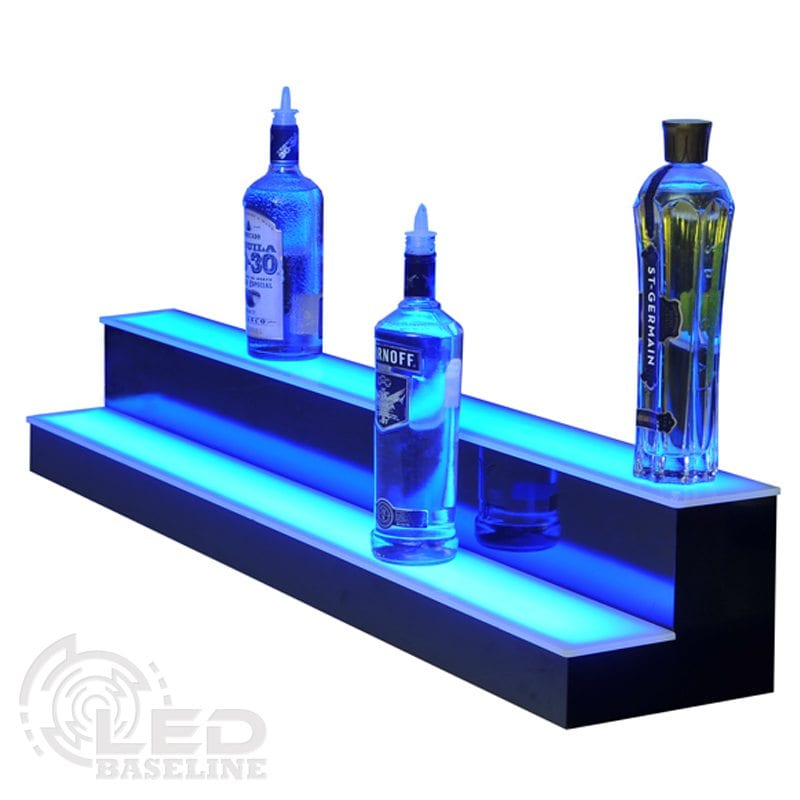Liquor Bottle Displays 2 Step 30 Standard