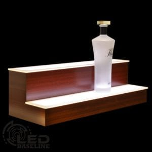 2 Tier LED Display Shelf