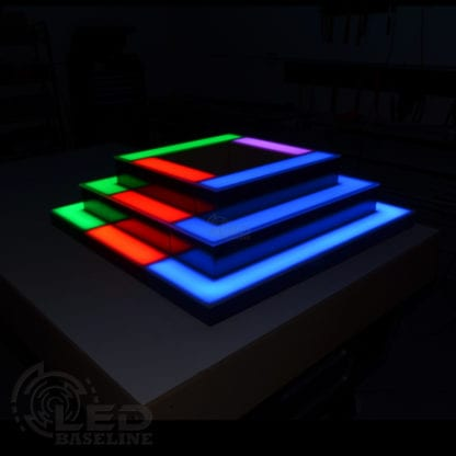 Corner LED Display Shelves 9