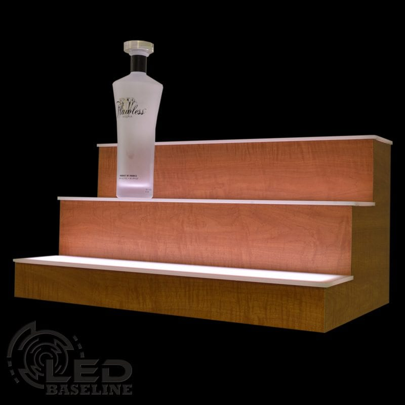 3 Step LED Display Shelf