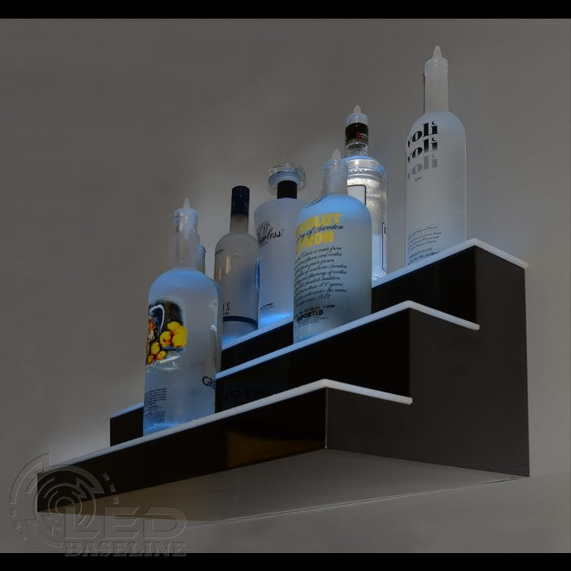 Wall Mounted Liquor Shelf 3 Step Standard wall 2