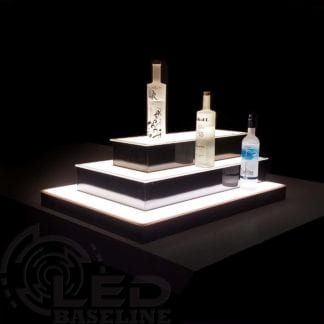 Island LED Display Shelves