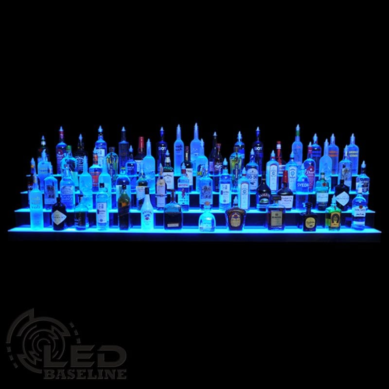 4 Tier LED Display Shelf 20