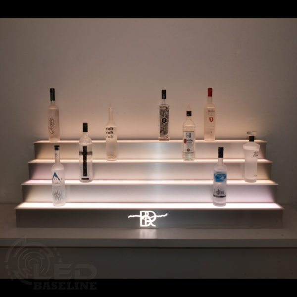4 Tier LED Display Shelf 9