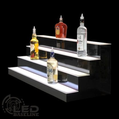 4 Tier LED Display Shelf 8