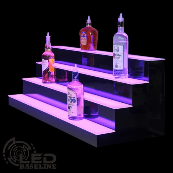 4 Tier LED Display Shelf 7