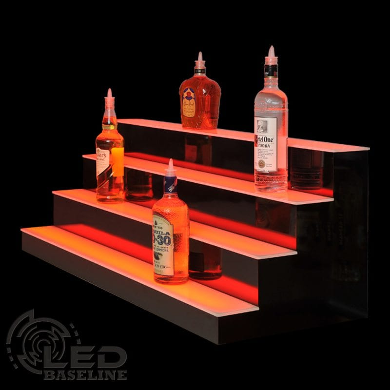 4 Tier LED Display Shelf 6