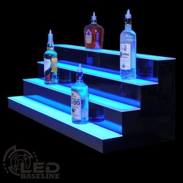 4 Tier LED Display Shelf 5