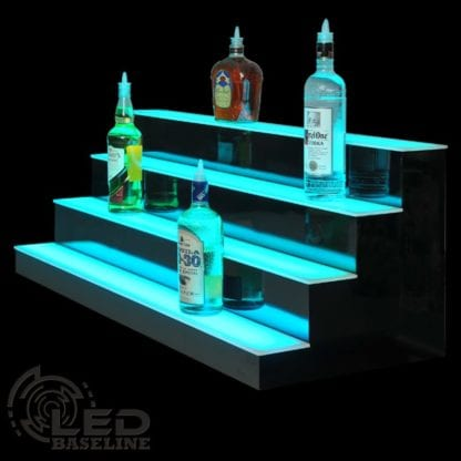 4 Tier LED Display Shelf 4