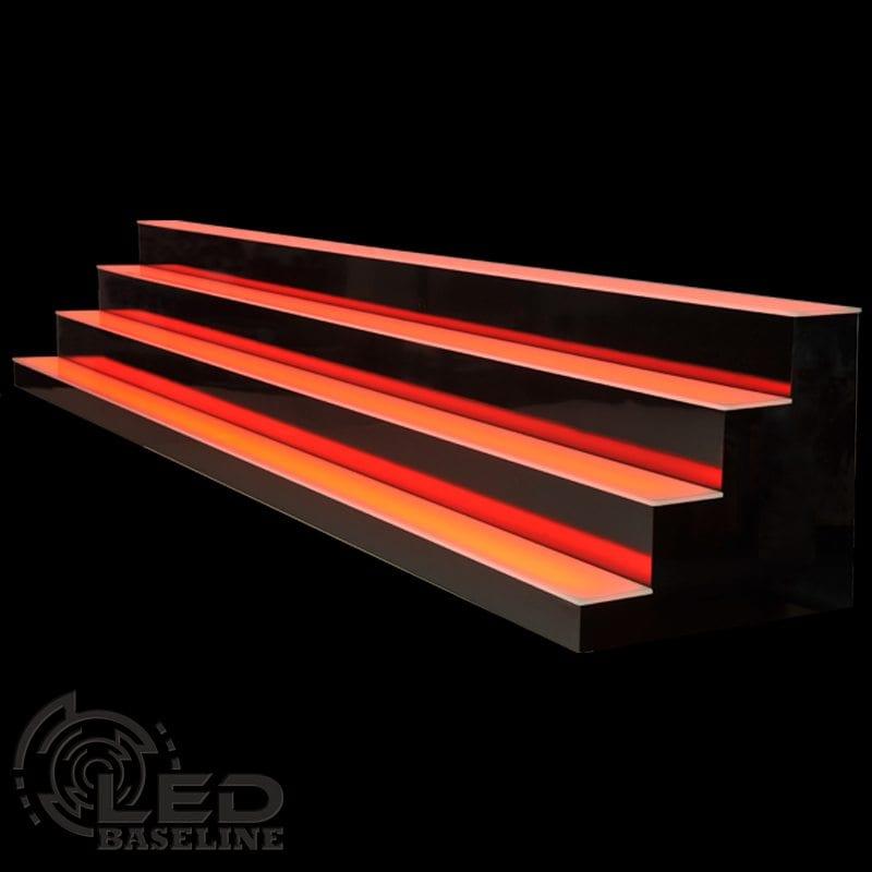 4 Tier LED Display Shelf 3