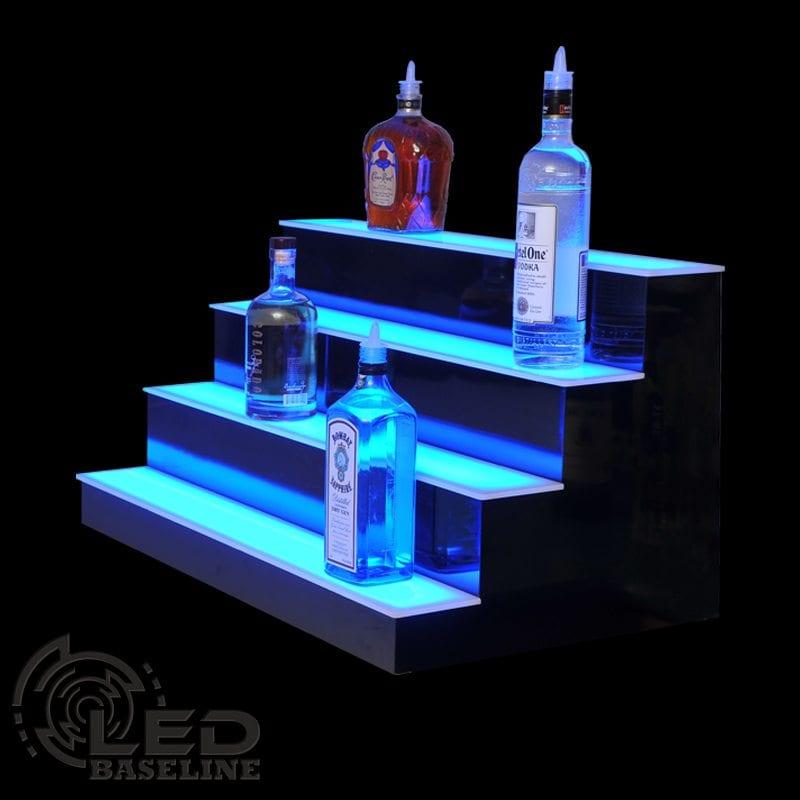 4 Tier LED Display Shelf 2
