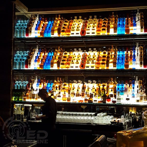 4 Tier LED Display Shelf 19