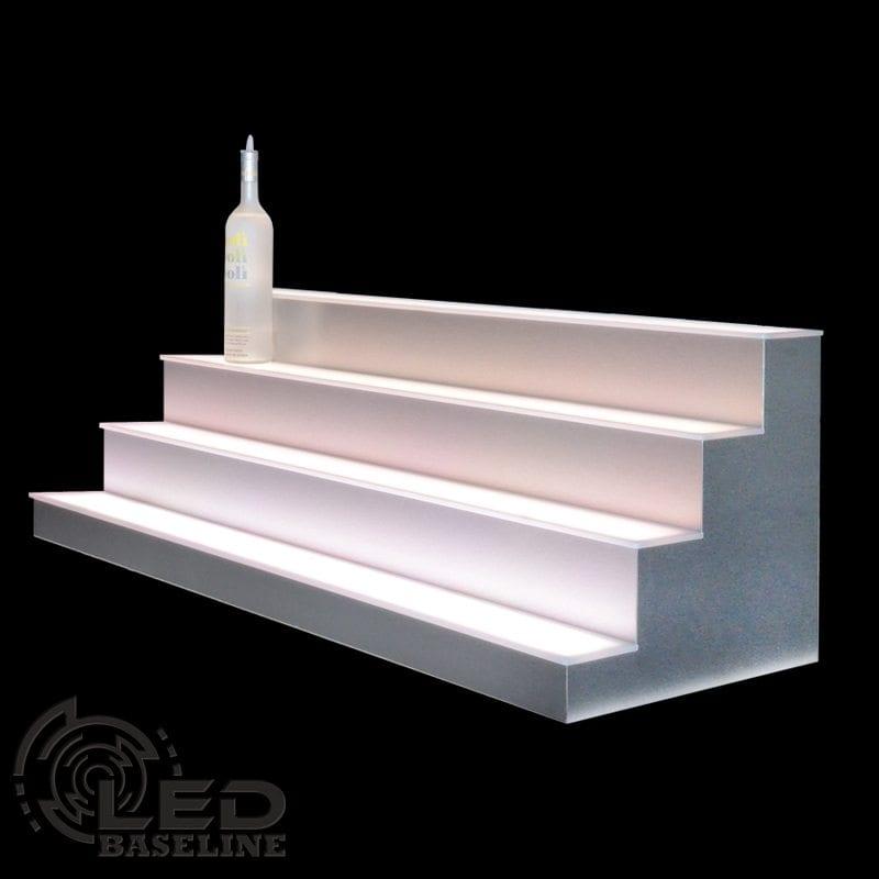 4 Tier LED Display Shelf 16
