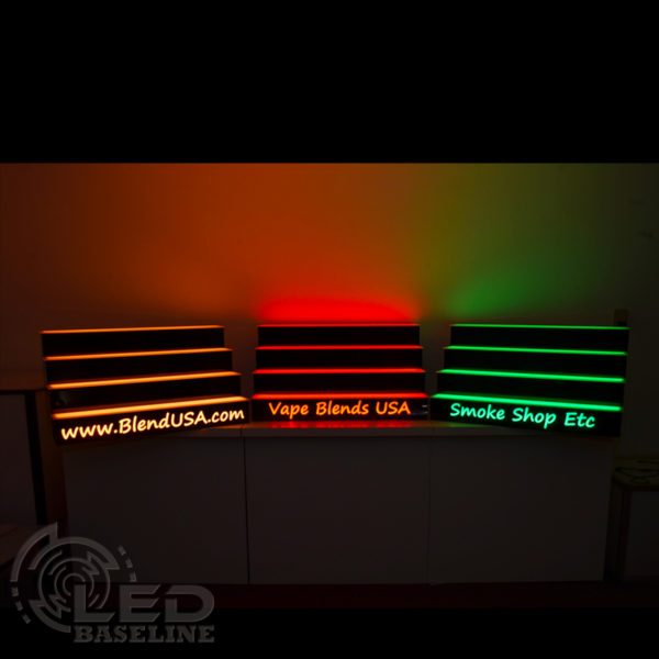 4 Tier LED Display Shelf 15