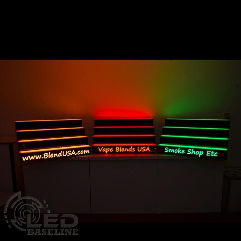 4 Tier LED Display Shelf 15