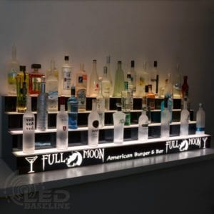 Lighted Bar Shelves | LED Furniture | Home Bar Shelves | Display Shelves