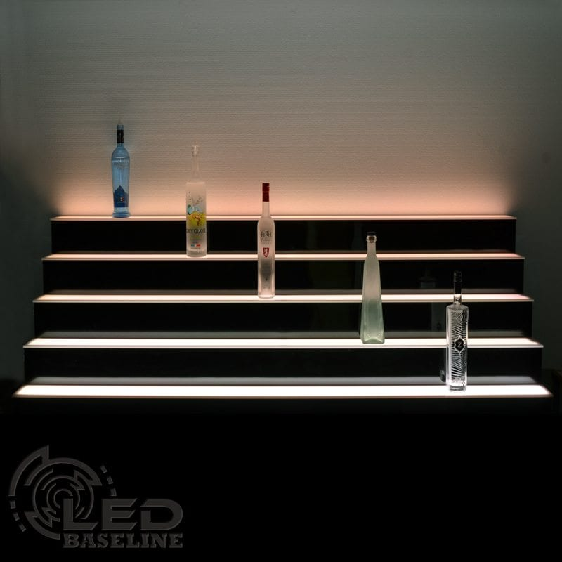 5 Tier LED Display Shelf