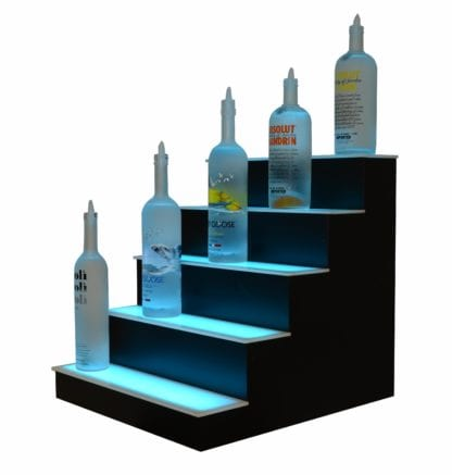 5 Tier LED Display Shelf 6