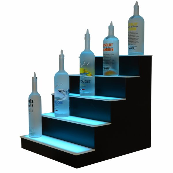 5 Tier LED Display Shelf 6