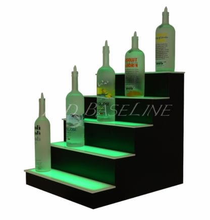 5 Tier LED Display Shelf 5