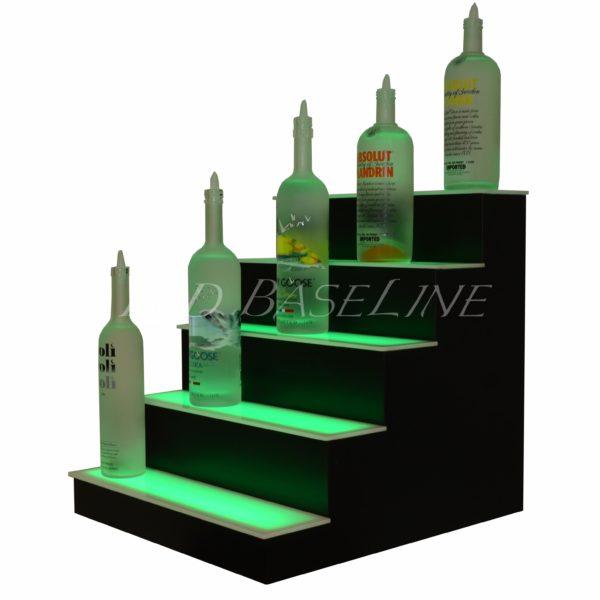 5 Tier LED Display Shelf 5