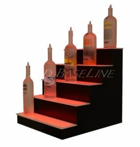 lighted shelves from LED Baseline.