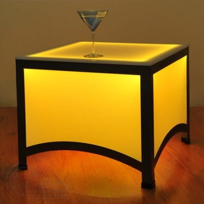 Arch Style LED Side Table