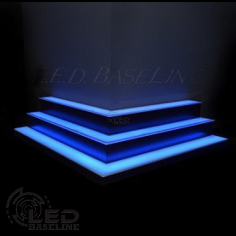 Corner LED Display Shelves 8