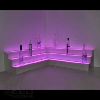 Corner LED Display Shelves 4