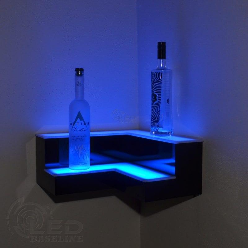 Corner LED Display Shelves 5