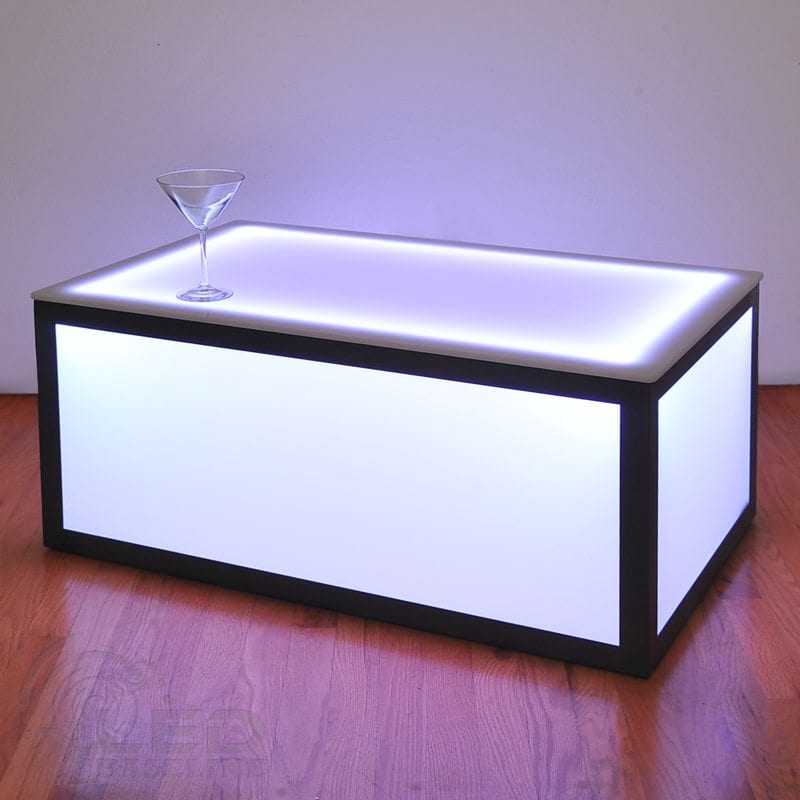 LED Cube Coffee Table