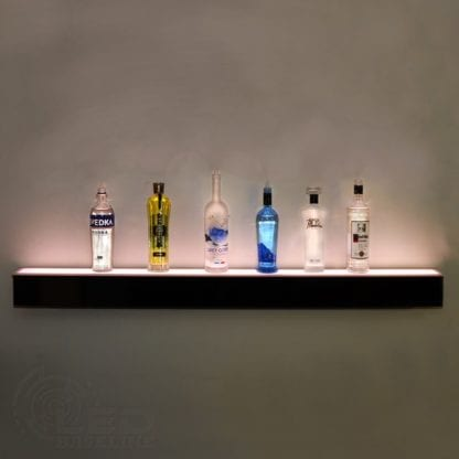 LED Liquor Bottle Display Shelf Floating wall Shelf 3