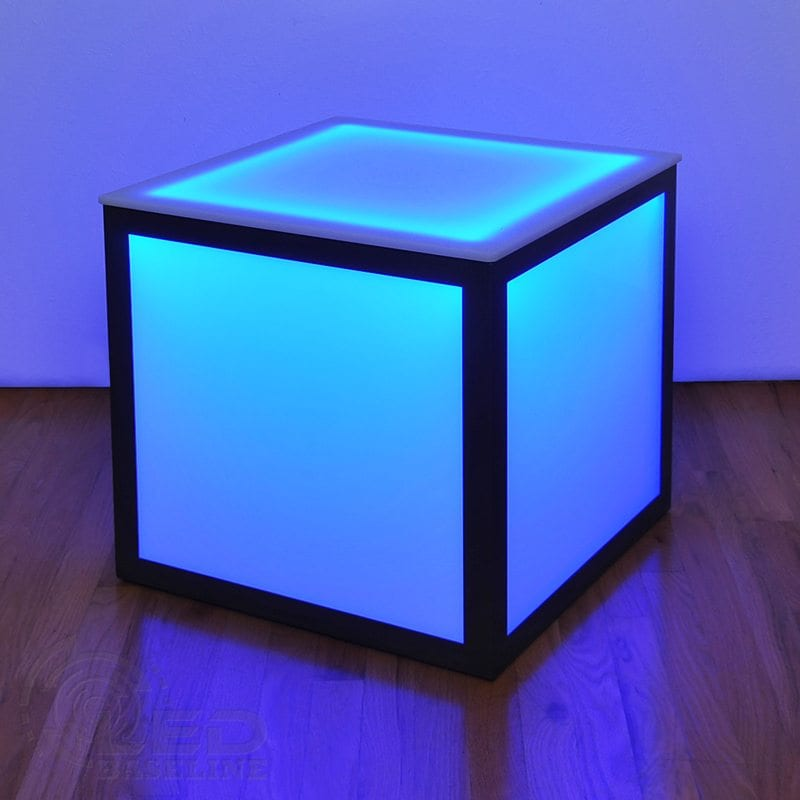 LED Cube Side Table 2