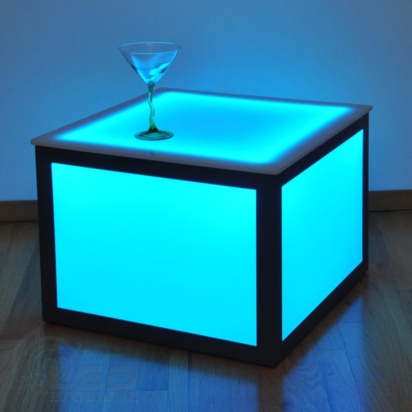 LED Cube Side Table 5