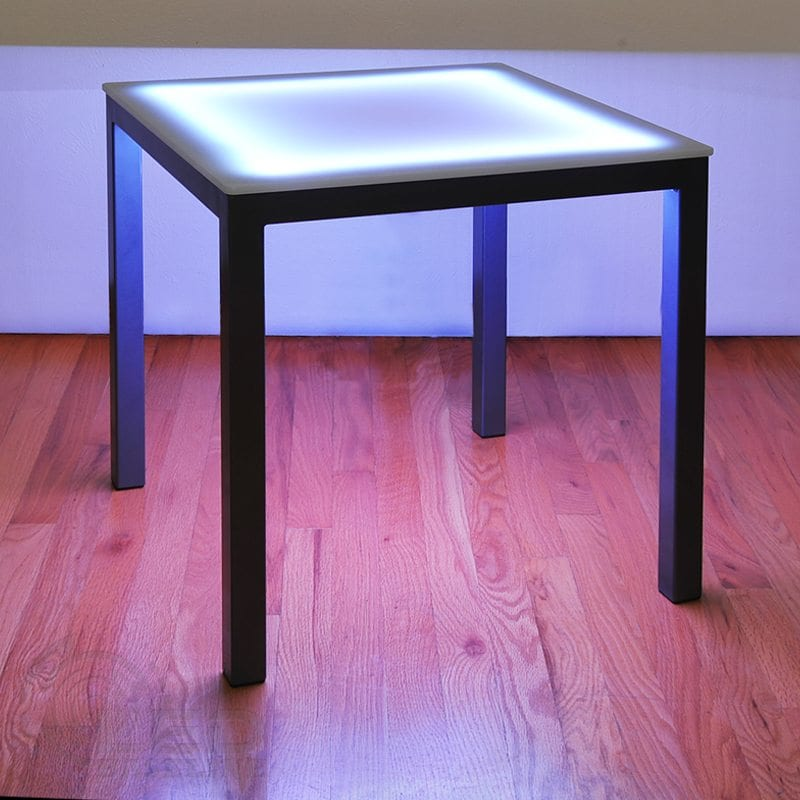 LED Side Table | LED Side Table for Bars and Nightclubs
