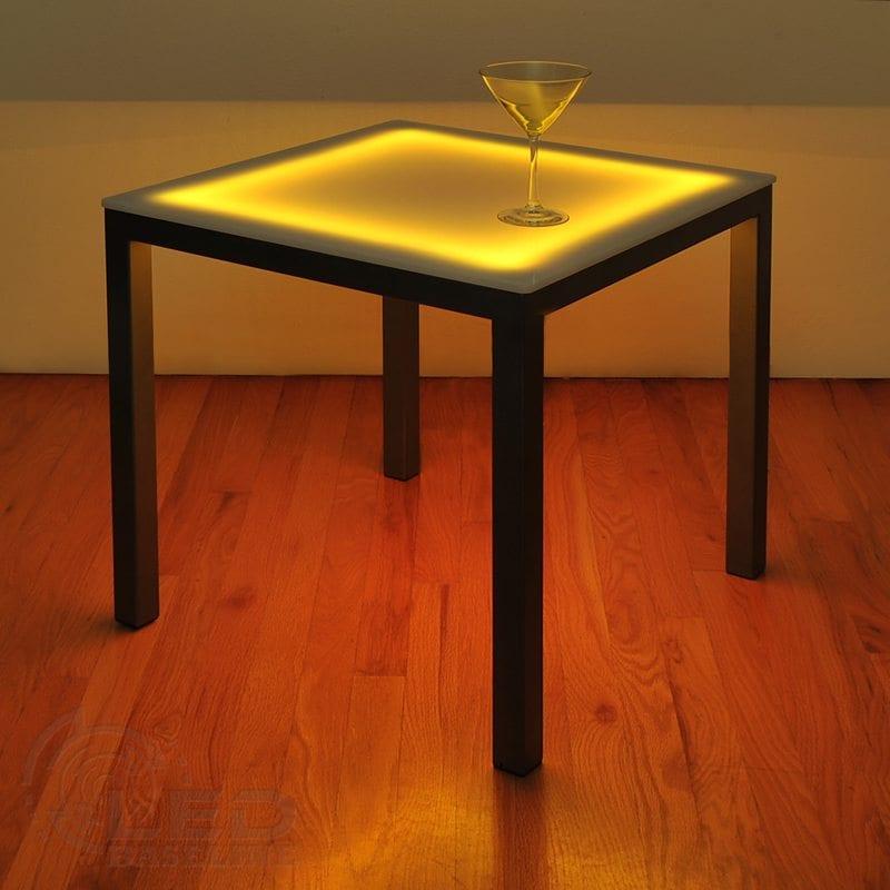 LED Side Table