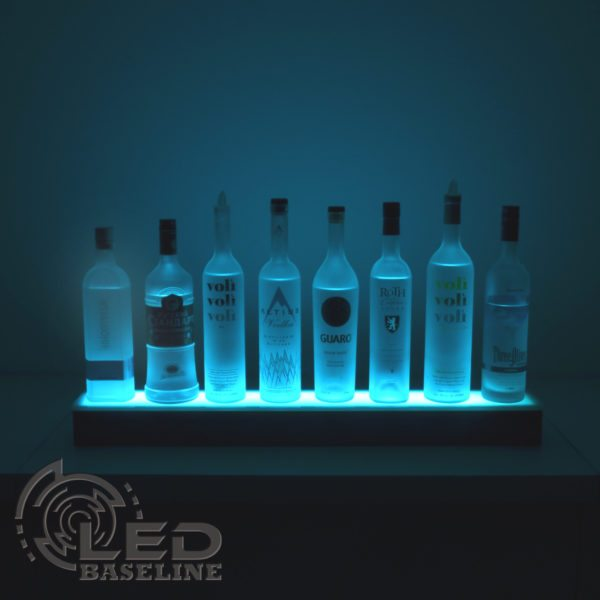1 Tier LED Display Shelf