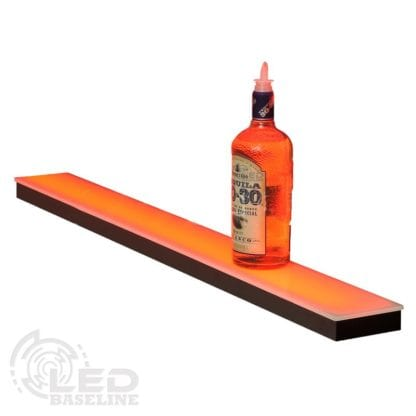 1 Tier Low Profile LED Display Shelf 3