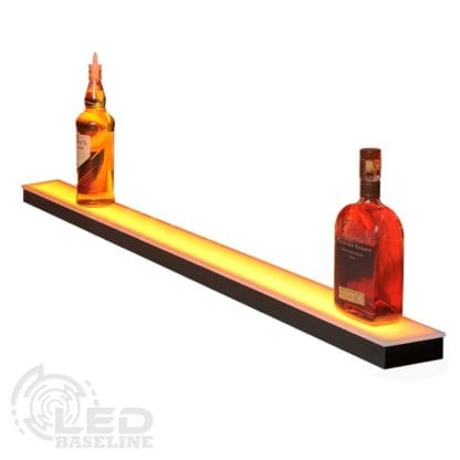 1 Tier Low Profile LED Display Shelf 2