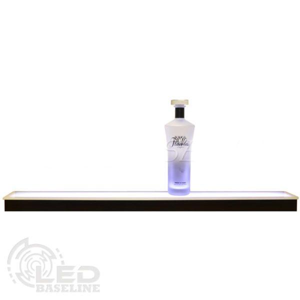 1 Tier Low Profile LED Display Shelf 1