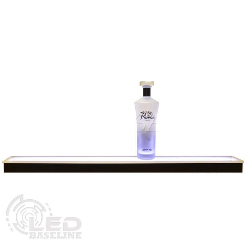 1 Tier Low Profile LED Display Shelf 1