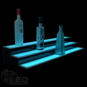 Low Profile LED Display Shelves